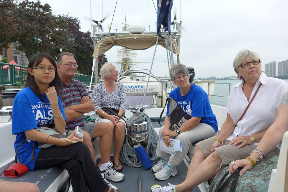 Some guests were wowed by their experience on Sea Dragon. Others-more astonished that we could live like this.