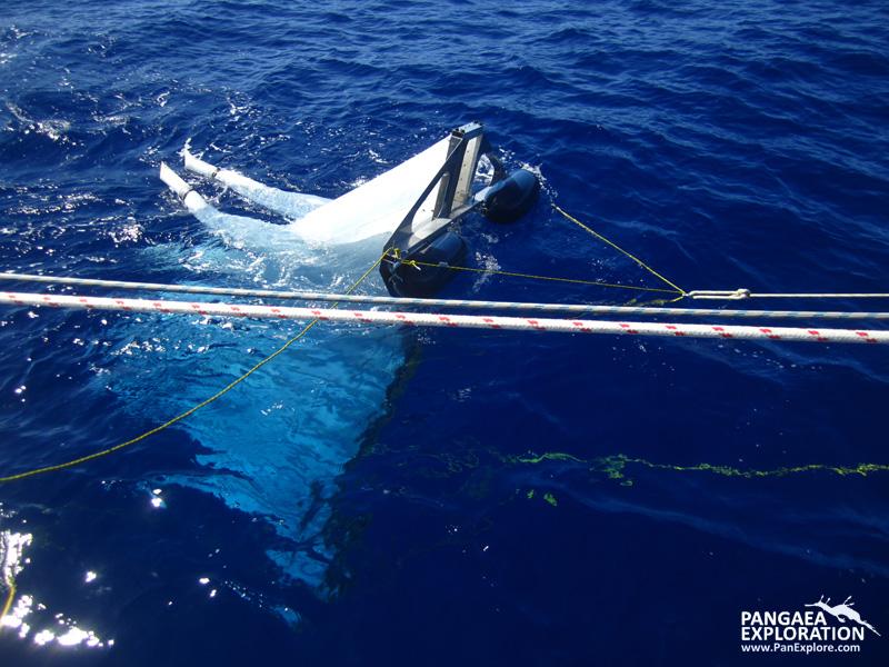 ocean gyre trawling plastic