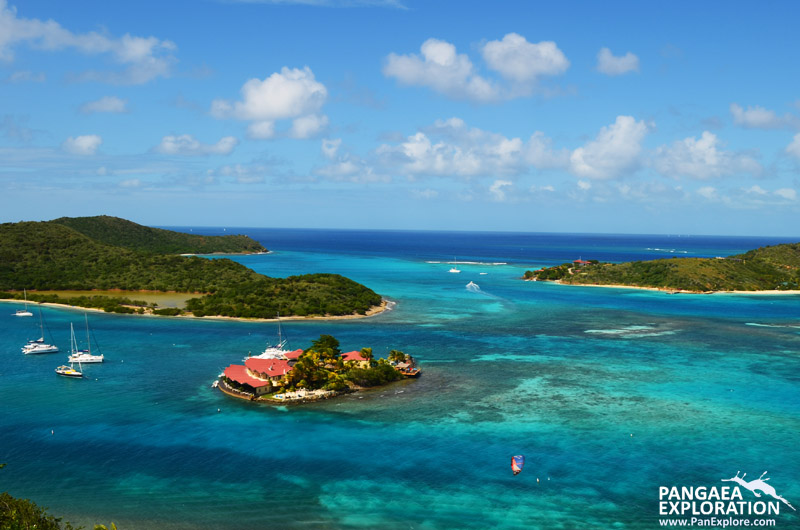 beautiful british virgin islands harbor