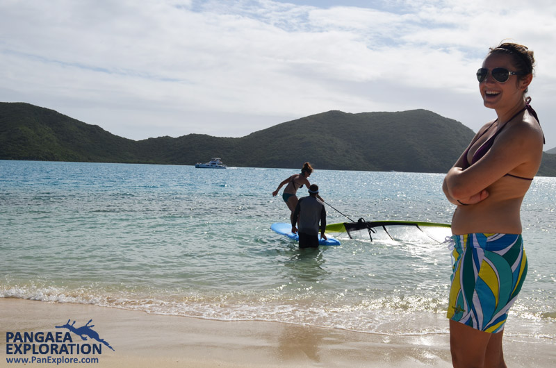 wind surfing british virgin islands