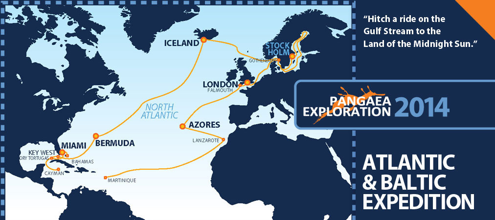 2014 sailing expeditions schedule